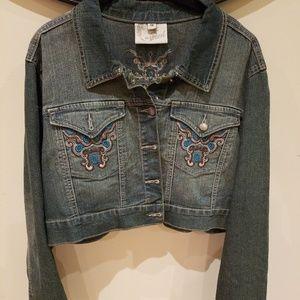 Crest denim Cropped jacket